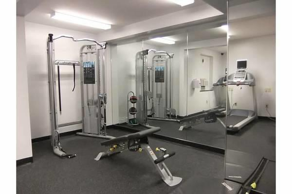 Plaza fitness room